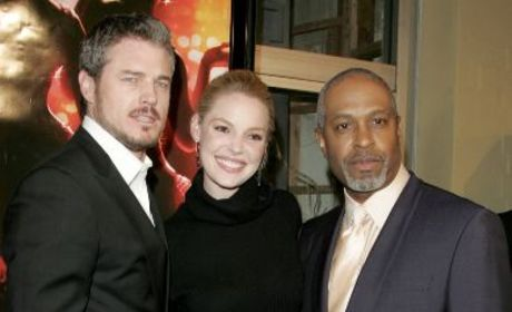 "Grey's Anatomy ""Dreamgirl,"" Hunky Co-Stars Attend Movie Premiere"