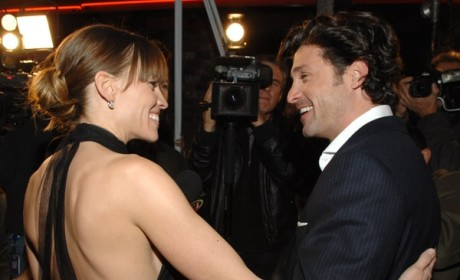 """Patrick Dempsey, Hilary Swank at L.A. """"Freedom Writers"""" Premiere"""