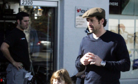 Patrick Dempsey, Daughter Tallulah Put Safety (and Cuteness) First