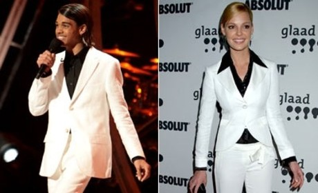 Katherine Heigl, Sanjaya Malakar Face Off