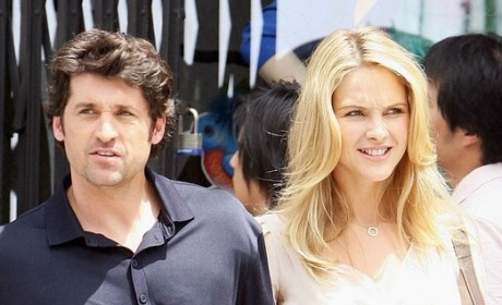 """Patrick Dempsey On the Set of His New Movie, """"Made of Honor"""""""