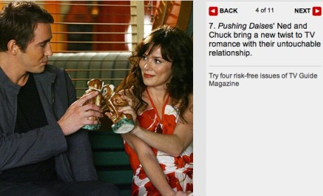 Ned and Chuck are a Top TV Couple
