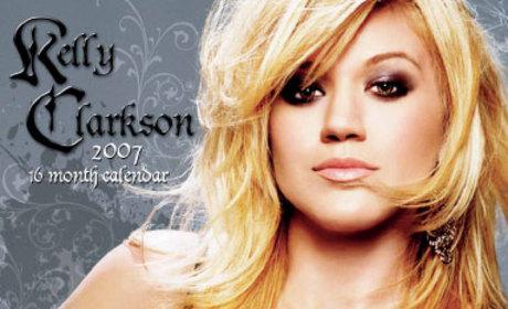 Kelly Clarkson Calendar to Be Available Soon