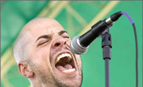 Chris Daughtry: Singing with the Bulls