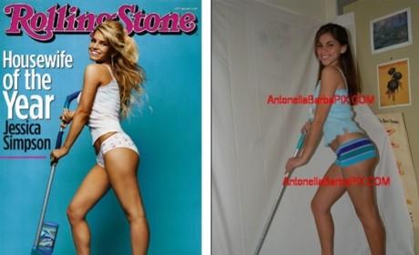 Antonella Barba Channels Her Inner Jessica Simpson