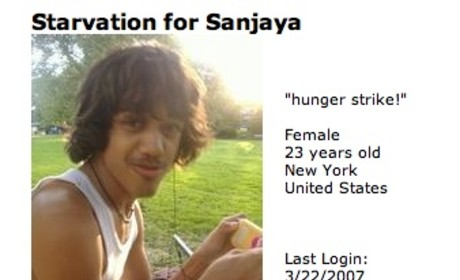 In (Hunger) Protest of Sanjaya Malakar