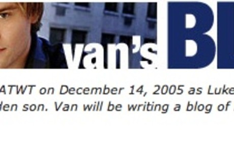 Van Hansis Updates His Blog