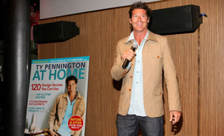 Ty Pennington Launches New Magazine in N.Y. City