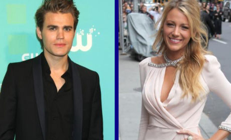 Tournament of TV Fanatic: Paul Wesley vs. Blake Lively!