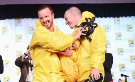 Breaking Bad Comic-Con Panel: Hail the New King