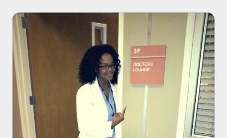 Jerrika Hutton Cast as Grey's Anatomy Intern