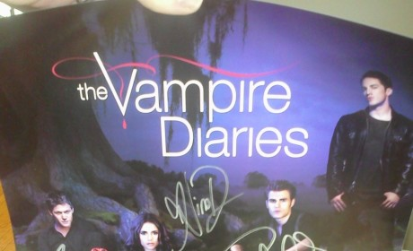 The Vampire Diaries Diaries Contest: Win Signed Posters! Apply by October 28!