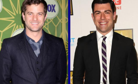 Tournament of TV Fanatic Quarterfinals: Joshua Jackson vs. Max Greenfield!