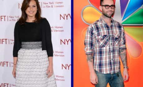 Tournament of TV Fanatic: Mariska Hargitay vs. Adam Levine!