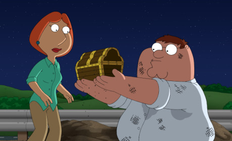 Peter Finds Treasure