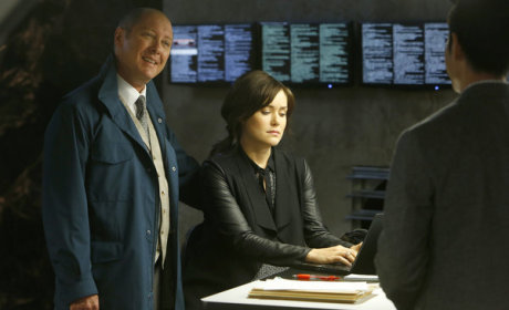 The Blacklist Books Block of Guest Stars