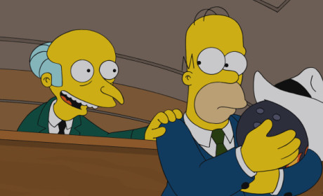 Burns and Homer