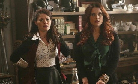 Belle & Ariel Looked Shocked