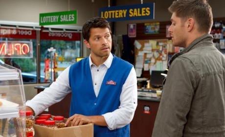 Castiel with a Job
