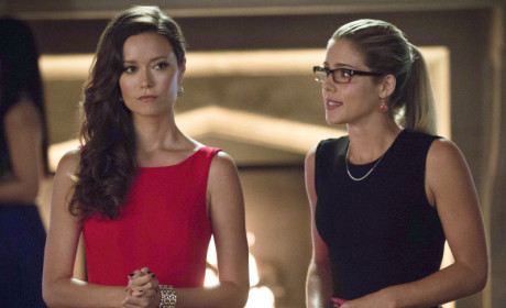 Arrow Exclusive: Summer Glau on Ollie's Charm, Isabel Kicking Butt and More