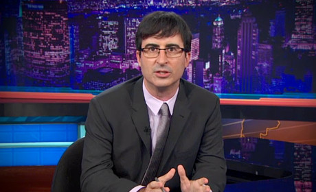 John Oliver on The Daily Show