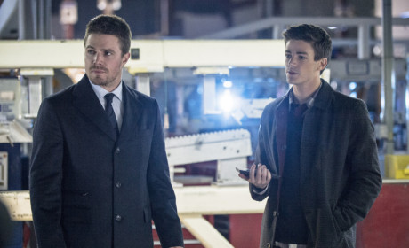 Arrow Q&A: Grant Gustin, Producers Talk Debut Of Barry Allen and The Flash