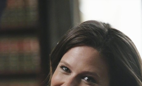 "Scandal Q&A: Katie Lowes on Quinn, B613 and Falling For ""Hot"" Bad Boys"