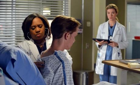Bailey Examines a Patient