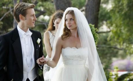 Nolan Escorts the Bride