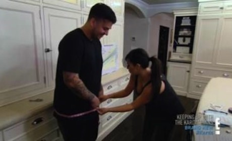 Rob Kardashian on E!