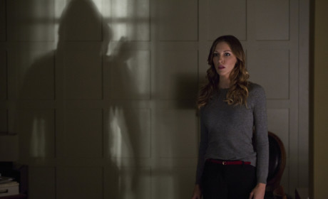 Laurel Looks Scared