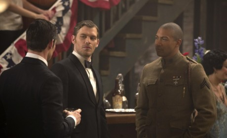Klaus and Marcel Flashback