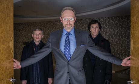 Charles Augustus Magnussen on Sherlock