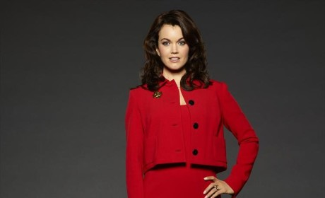 Mellie in Red