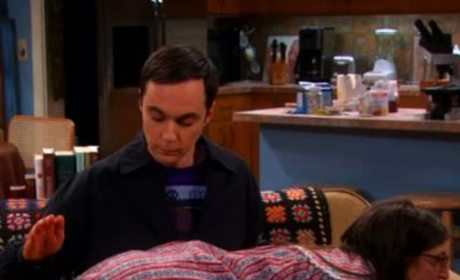 Sheldon Spanks Amy