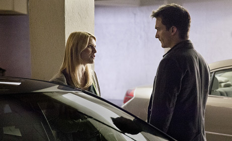 Carrie and Quinn - Homeland