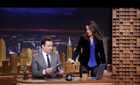 Tina Fey on The Tonight Show