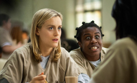 "Uzo Aduba as ""Crazy Eyes"" on Orange is the New Black"