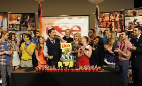 Glee Cast Celebrates 100 Episodes: See the Photos!