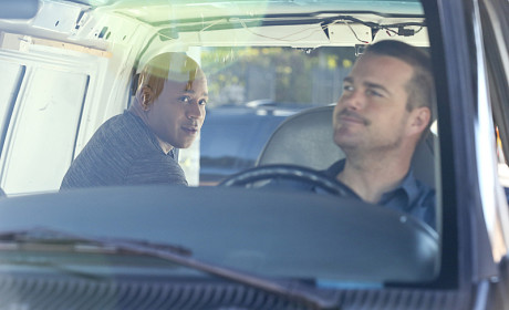 Callen Peeks Back at Sam