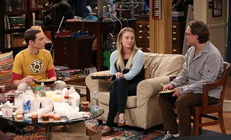 Penny Talks to Leonard and Sheldon