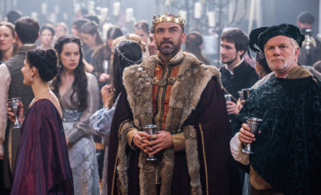 King Henry Dressed Up for the Wedding