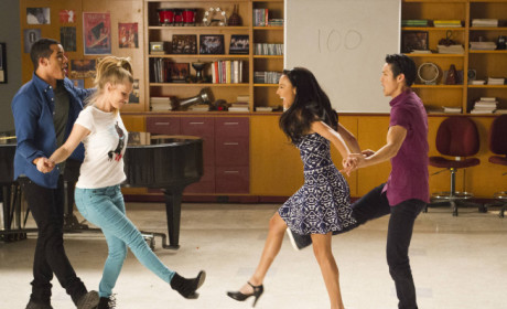 Who were you happiest to see return in the 100th episode of Glee?