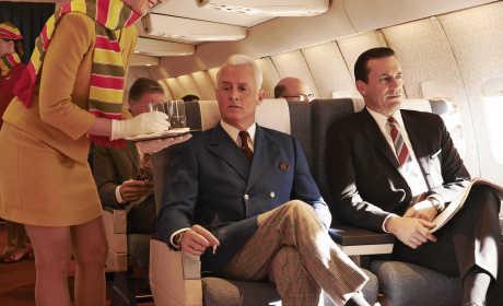 Mad Men Promotional Pics: Taking Flight