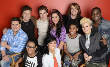 The American Idol Top 10