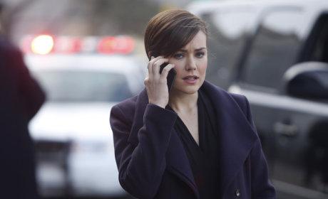 Liz on the Phone