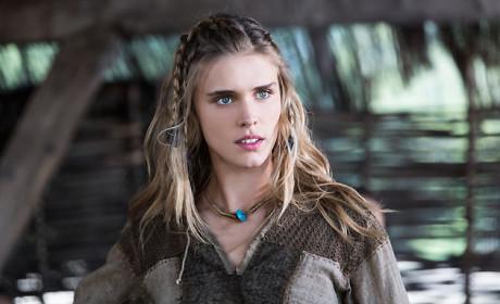 Gaia Weiss as Porunn on Vikings