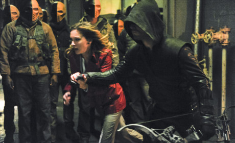 Arrow Picture Preview: Taking on an Army