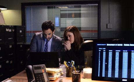 Liz and Aram Work Together