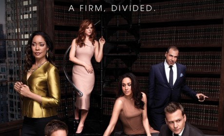 Suits Season 4 Poster: A Firm Divided